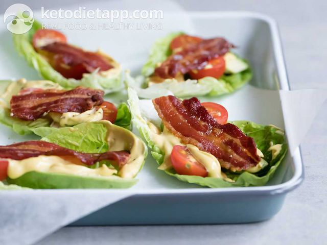 BLT salad boats