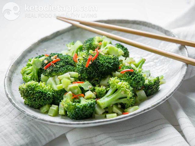 Spiced broccoli