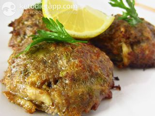 Beef & cabbage cutlets