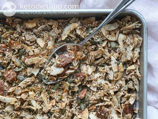 Ginger spiced granola