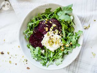 Beetroot & ricotta salad