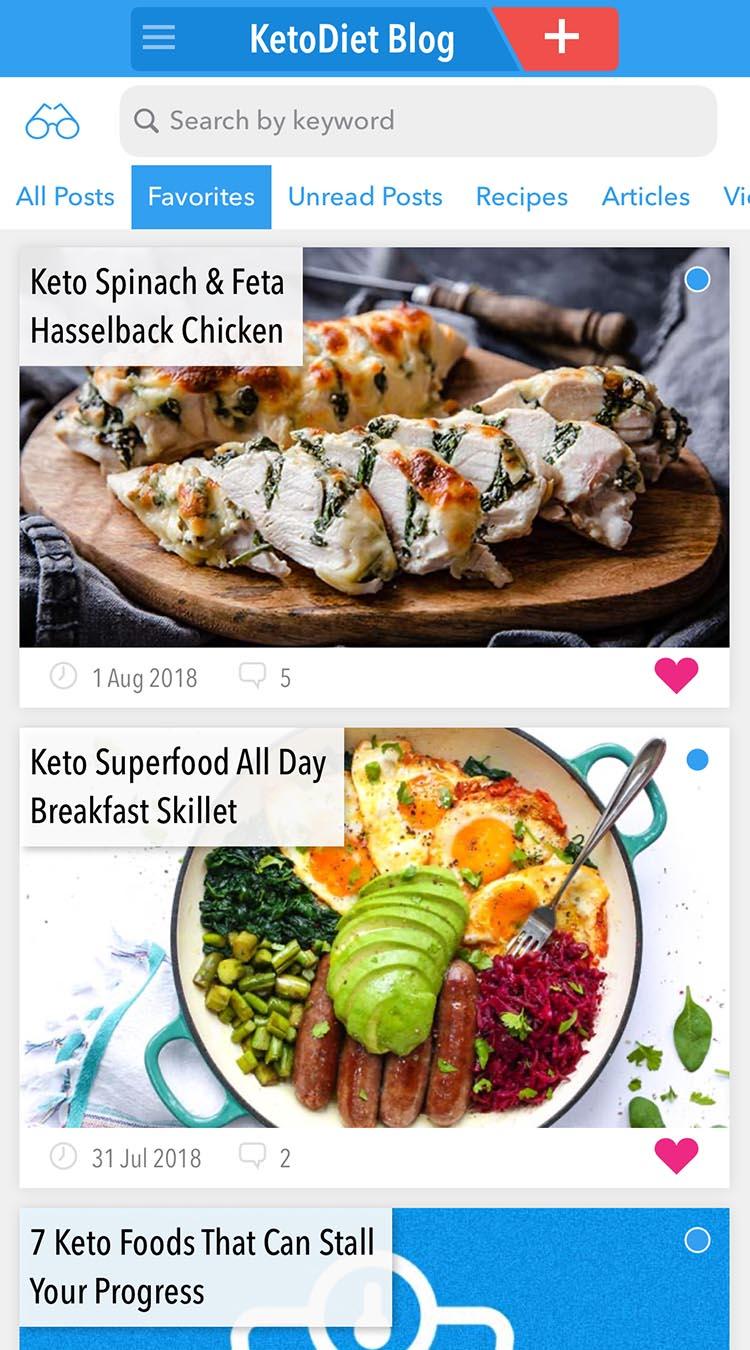 KetoDiet app blog